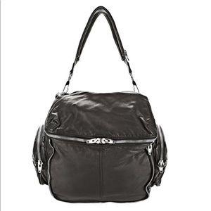 NEW ALEXANDER WANG BLACK WASHED JANE Shoulder Bag